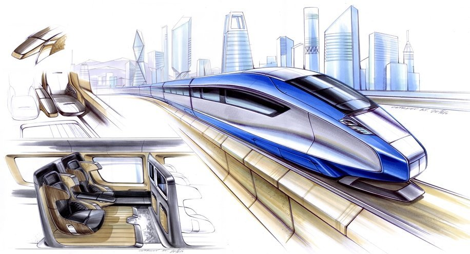 Russia plans to build a new high-speed railway Moscow - St. Petersburg