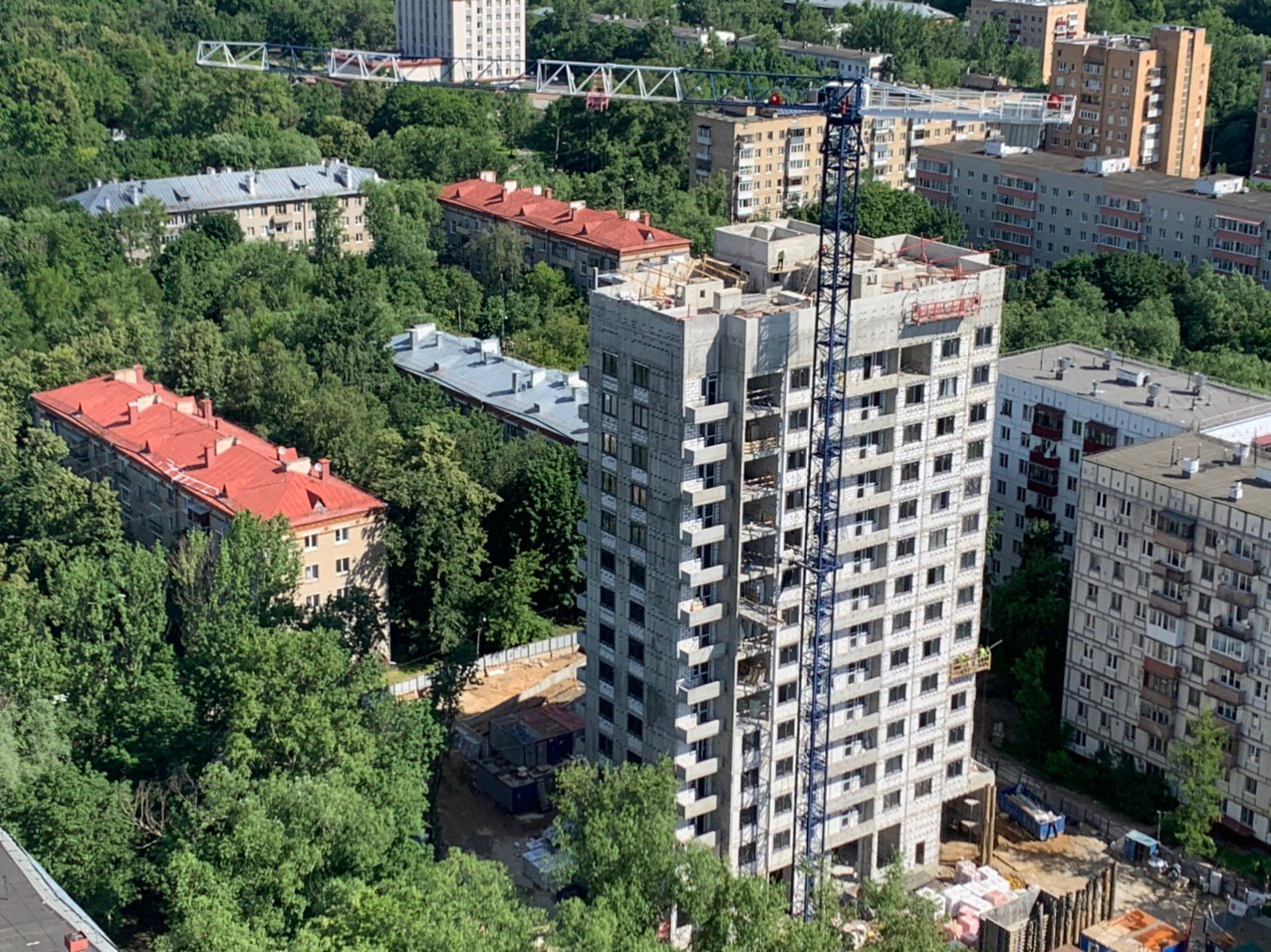 A residential building will be introduced in the Nizhegorodsky district of Moscow under the renovation program