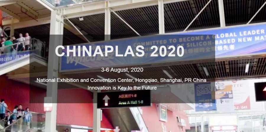 CHINAPLAS rescheduled to 3-6 August 2020 at NECC in Shanghai