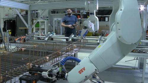 Robots help Skanska rewrites the rules of rebar tying