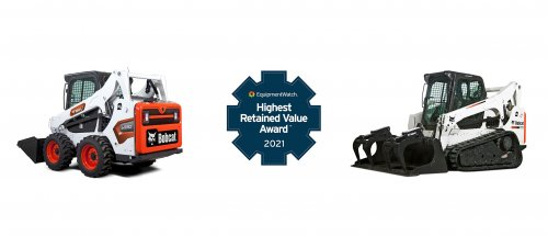 Bobcat Wins Highest Retained Value Award for 6th Year Running